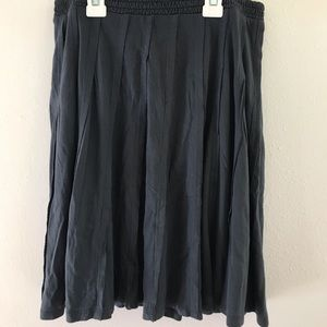 Lauren Conrad Dark Gray Skater Skirt